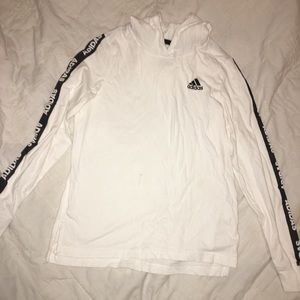 Boys or Girls adidas hooded long sleeve- Large